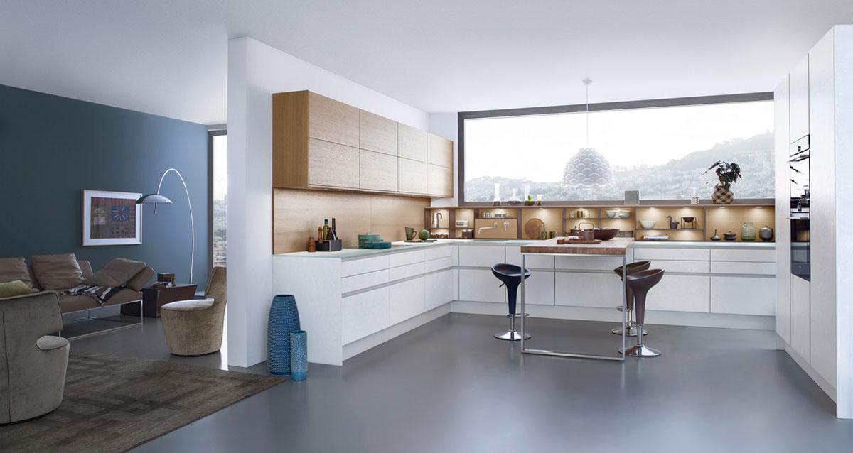 LEICHT Küchen – Marken-Einbauküchen – BÖHM Interieur | {Leicht küchen grifflos 16}