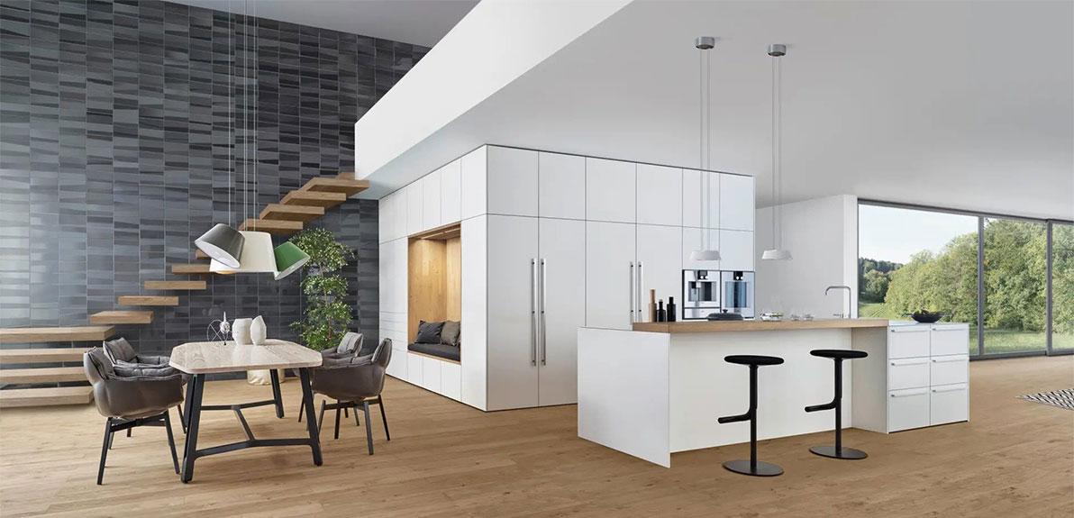 LEICHT Küchen Bondi-E |Xylo - Das Raum im Raum Konzept