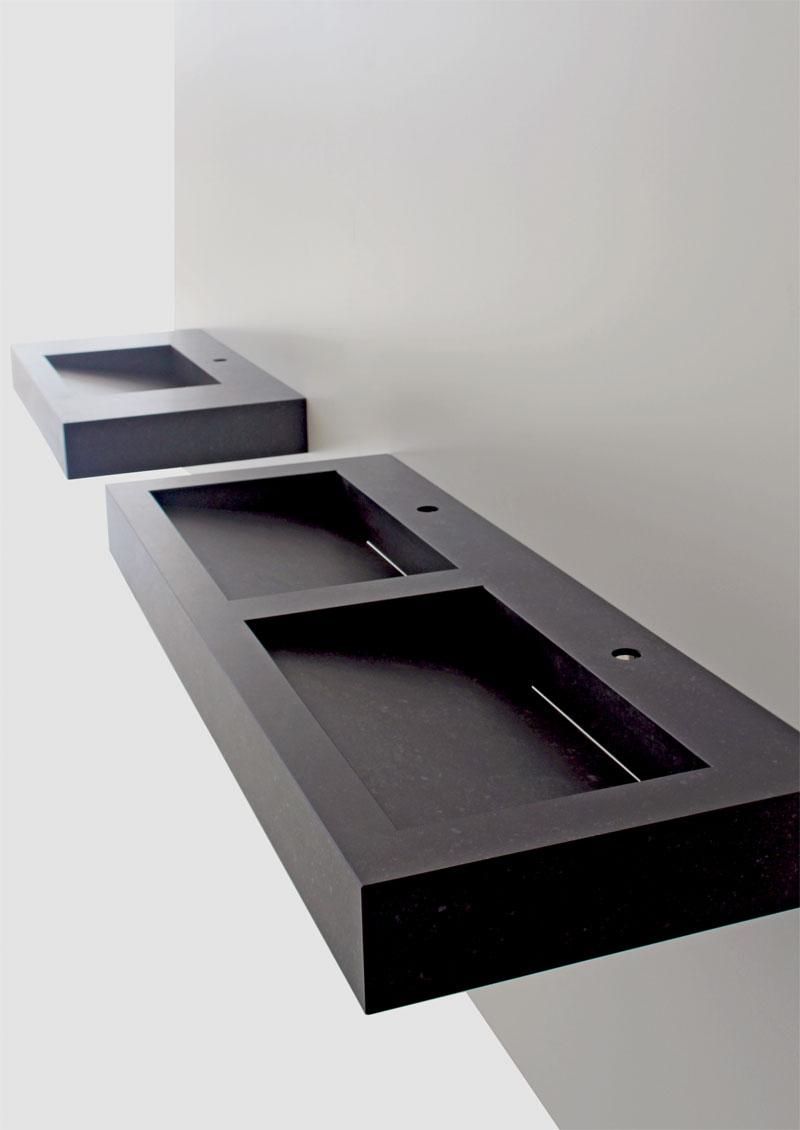 minimalistischer waschtisch vanity b hm interieur projekte. Black Bedroom Furniture Sets. Home Design Ideas