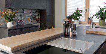 Ungewöhnliche Küchenarchitektur mit Raum für Individualität