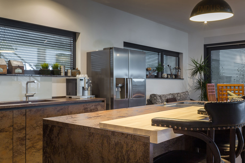 fern stliche wohnk che b hm interieur projekte. Black Bedroom Furniture Sets. Home Design Ideas