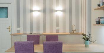 Technische Raffinessen wie das BORA Basic BHU und der unterfahrbare Tisch sorgen für genügend Luft und Aufenthaltsqualität.