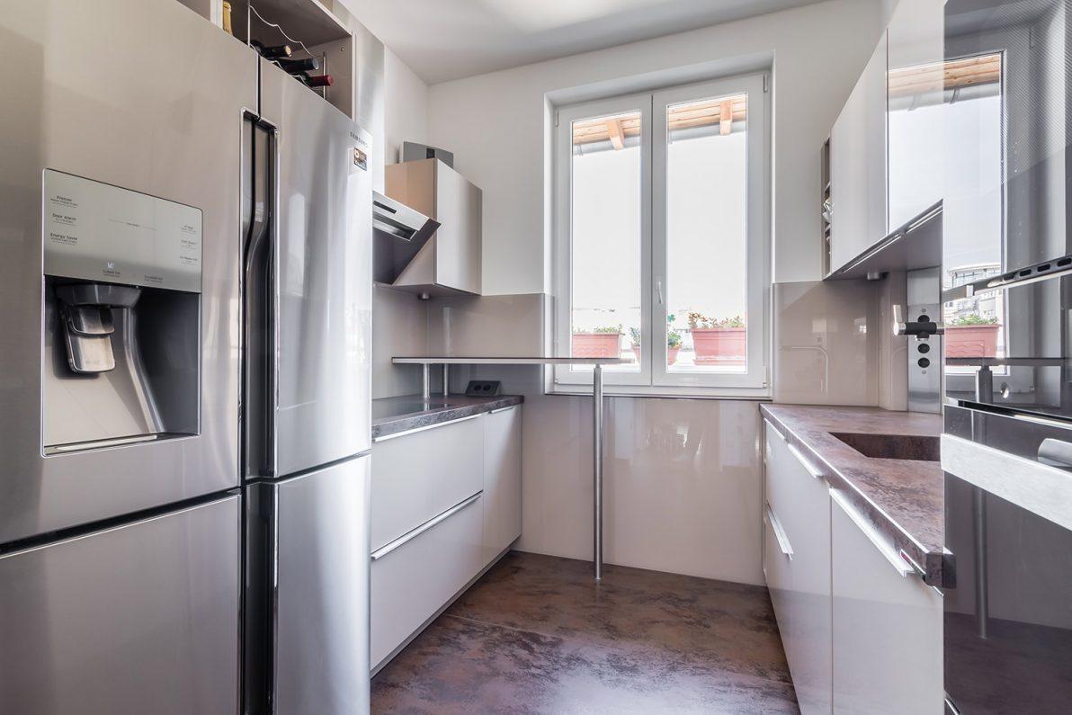 Kleine Küche - große Technik – BÖHM Interieur Projekte
