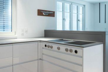 Das Kochfeld Bora Professional 2.0 ermöglicht optimalen Kochspaß ohne Einschränkung des Blickfeldes dank integriertem Dunstabzug