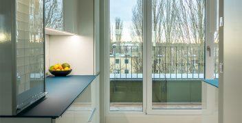 Glänzende Aussichten dank Fronten aus Designglas und großzügiger Planung