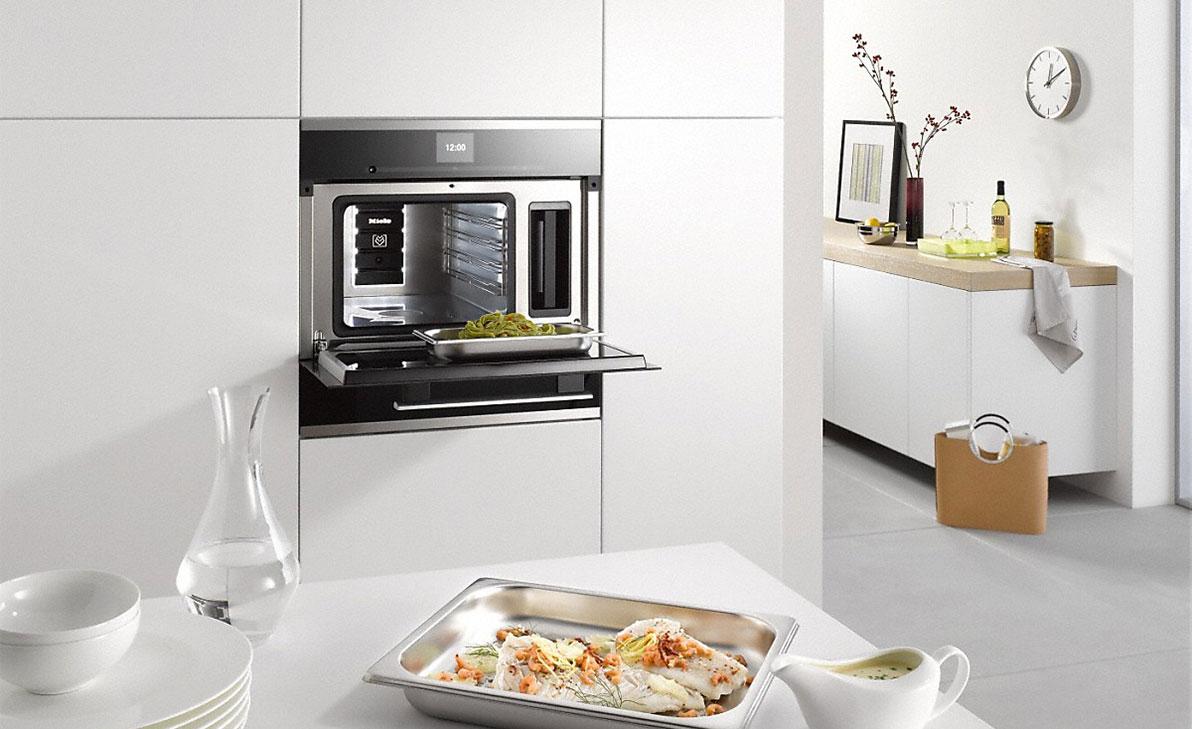 Miele Dampfgarer 45er Nische – BÖHM Küchen Abverkauf