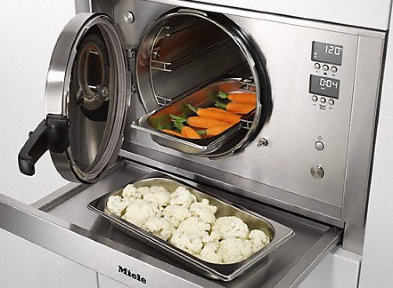 Dampfgaren mit Druck - Zeitsparend und gesund kochen: mit 101 °C bis 120 °C garen Gemüse, Fleisch und Hülsenfrüchte doppelt so schnell.
