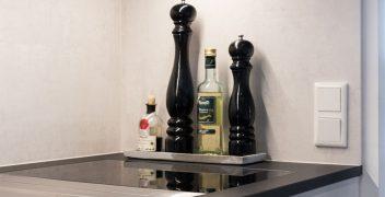 Kochfeld mit Tepan-Grill und Dunstabzug: BORA Professional 2.0