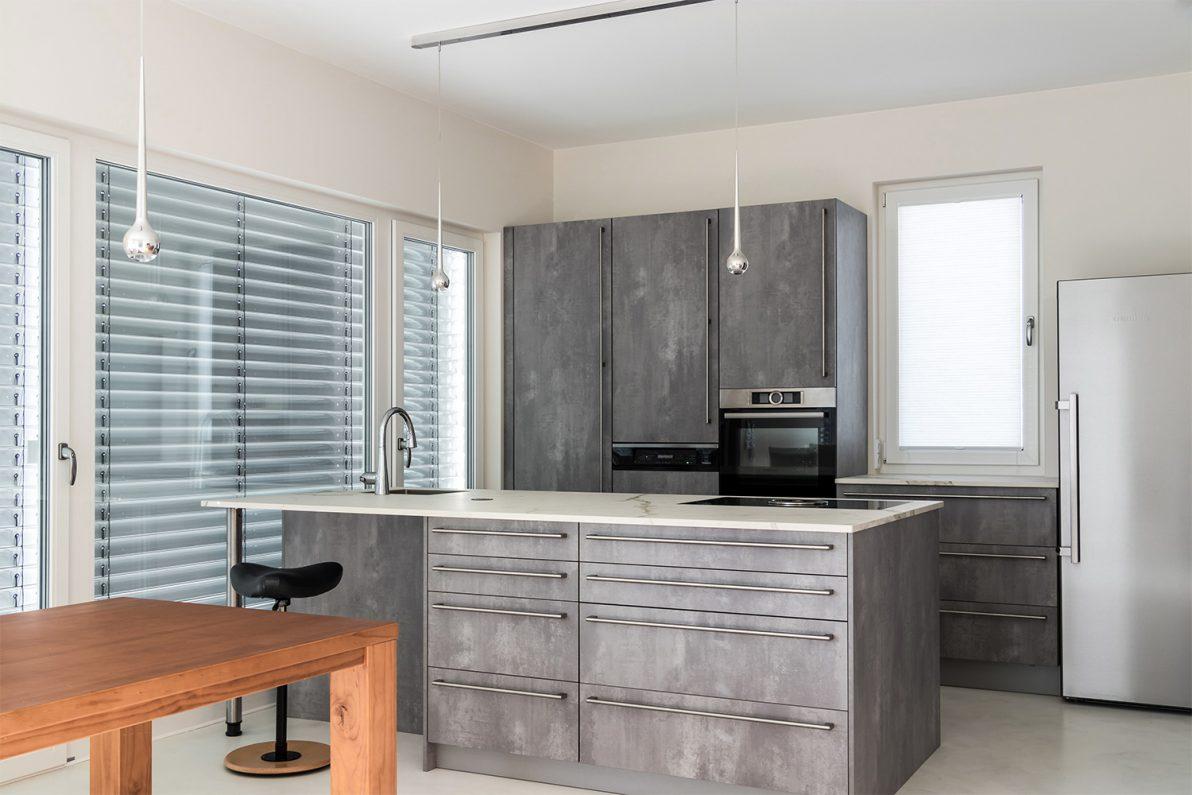 Beton In Interieur : Beton trifft marmor u referenzküche u bÖhm interieur projekte