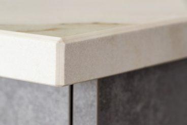 Küchenarbeitsplatte VidroStone Keramik 20 mm Block im Farbton VS6030 calacatta MARMOR  VS6042 ice PURE VS6042 ice PUREVS6042 ice PURE