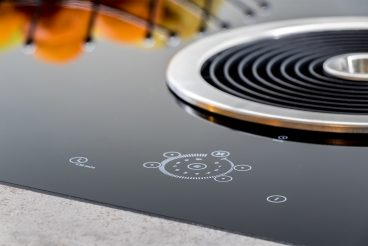 BORA Basic BFIU integriert in hitzebeständige Hightechkeramik VidroStone