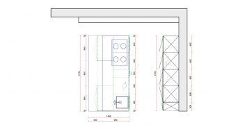 Grundriss - LEICHT Küchen - Syrius | Synthia