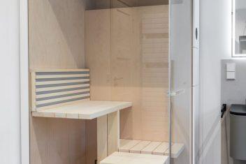 Designsauna für kleinere Räume - Duravit Inipi B Super Compact