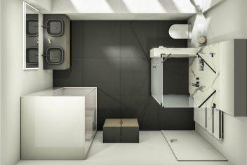 3D-Planung - Ansicht von oben